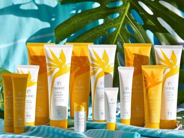 www.penelopedunlop.com - suncare - a photo showing Tropic's suncare products