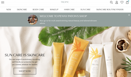 Buy Tropic Skincare in Oakham