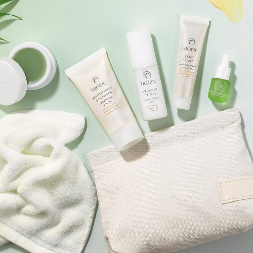 www.penelopedunlop.com - why on earth don't tropic do samples - a picture showing Tropic's skincare discovery kit